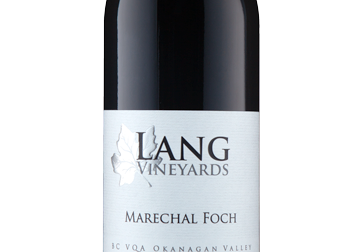 Bottle shot of Lang Marechal Foch